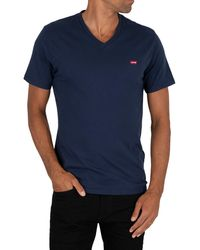 Levi's Original V-neck T-shirt - Blue