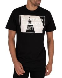 G-Star RAW Layer Originals Logo T-shirt - Black