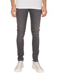 Jack & Jones Liam Original 010 Skinny Jeans - Grey