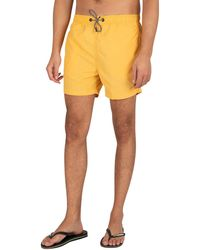 Superdry Studios Swim Shorts - Yellow