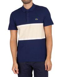 Lacoste Logo Polo Shirt - Blue