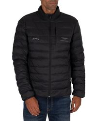 Hackett Amr Quilted Jacket - Black