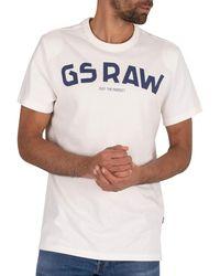 G-Star RAW Graphic T-shirt - White