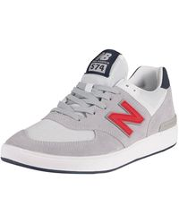 New Balance - All Coasts 574 Suede Trainers - Lyst