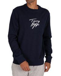 Tommy Hilfiger Lounge Track Sweatshirt - Blue