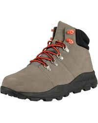 Timberland Brooklyn Low Hiker Leather Boots - Multicolour