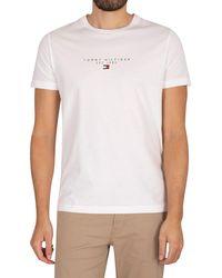 Tommy Hilfiger Essential T-shirt - White