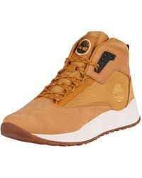 Timberland Solar Wave Mid Leather Boots - Brown