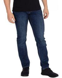 9715808d Tommy Hilfiger - Men's Core Bleecker Slim Jeans, Blue Men's Skinny Jeans In  Blue -