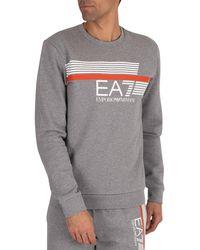 EA7 Graphic Sweatshirt - Gray