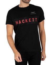 Hackett - Aston Martin Racing Branded T-shirt - Lyst