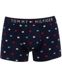 Tommy Hilfiger Pattern Trunks - Blue