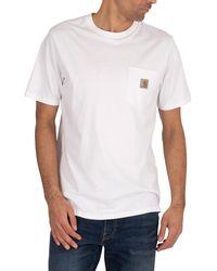 Carhartt WIP Pocket T-shirt - White