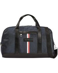 Tommy Hilfiger Uptown Nylon Duffle Bag - Black