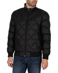 Tommy Hilfiger - Two Tones Padded Bomber Jacket - Lyst