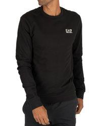 EA7 Logo Sweatshirt - Black