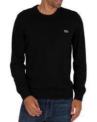 Lacoste Logo Knit - Black