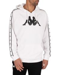 Kappa Authentic Tammy Pullover Hoodie - White