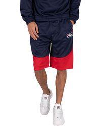 Fila Aries Sweat Shorts - Red