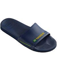 Havaianas Brasil Fc Sliders - Blue