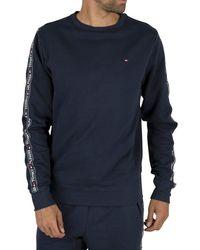 Tommy Hilfiger Track Sweatshirt - Blue