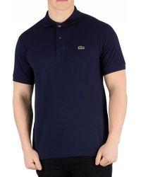 Lacoste Marine Logo Poloshirt - Blue