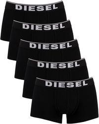 DIESEL 5 Pack Basic Damien Trunks - Black