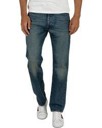 Levi's 501 Regular Fit Jeans - Blue