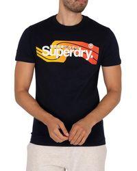 Superdry Cali T-shirt - Blue