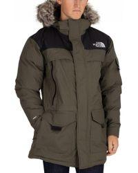 The North Face - Green/black Murdo Parka Jacket - Lyst