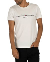 Tommy Hilfiger Logo White T-shirt