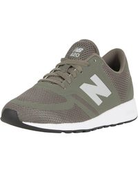 New Balance - Olive 420 Trainers - Lyst