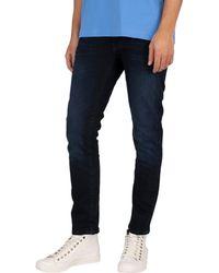 GANT Slim Active Recover Jeans - Blue