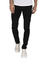 Jack & Jones Liam Original 816 Skinny Jeans - Black