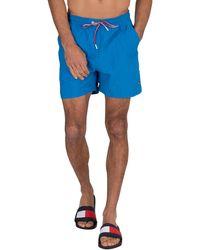 Tommy Hilfiger Medium Drawstring Swim Shorts - Blue