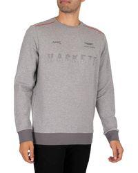 Hackett Amr Sweatshirt - Grey