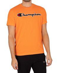 Champion Graphic T-shirt - Orange