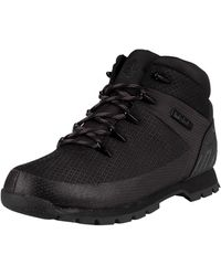 Timberland Euro Sprint Waterproof Hiker Boots - Black
