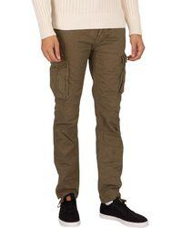 Schott Nyc Ranger 70 Cargo Pants - Green