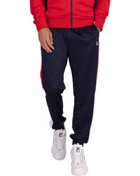 Fila Grady Color Block Sweatpants - Blue