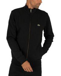 Lacoste Zip Track Jacket - Black