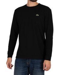 Lacoste Sport Longsleeved Croc T-shirt - Black