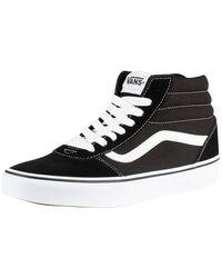 Vans Ward Hi Athletic Shoe - Black