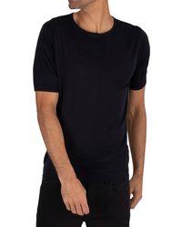 John Smedley Belden T-shirt - Blue
