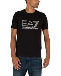 EA7 Graphic T-shirt - Black