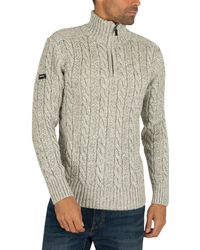 Superdry Jacob Henley Knit Sweater - Multicolour