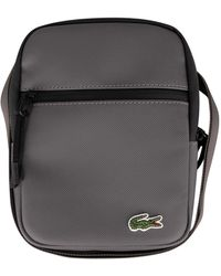 Lacoste Flat Crossover Bag - Black