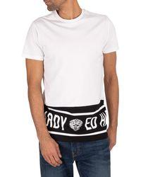 Ed Hardy Border T-shirt - White