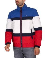 Tommy Hilfiger Colourblock Padded Jacket - White