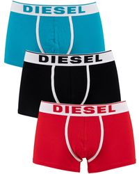 DIESEL 3 Pack Damien Trunks - Red